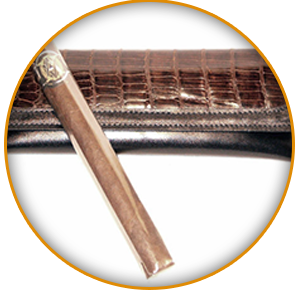 Cigar Case with Magnetic Closure